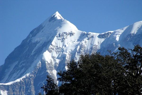 Himalayas with Taj Mahal